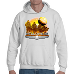 Hooded Sweatshirt Helldivers Artwork - Sheepbay