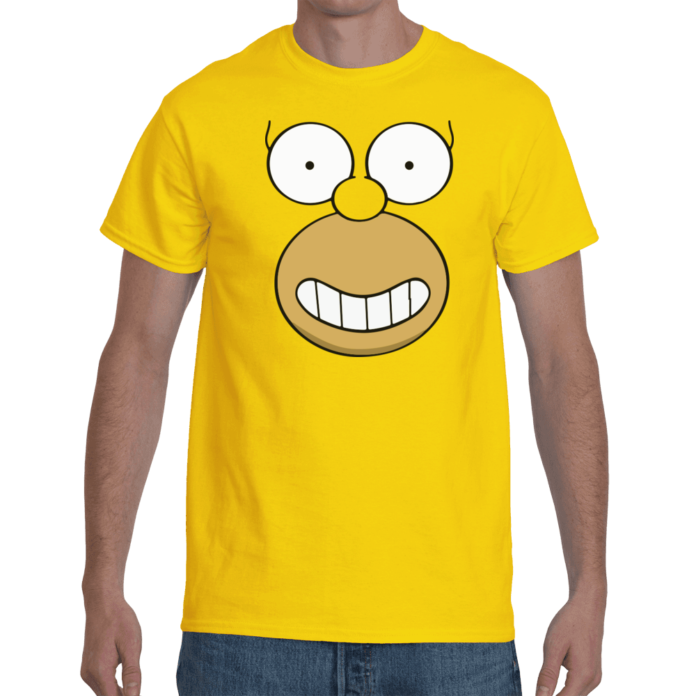 T-shirt Homer face - Sheepbay