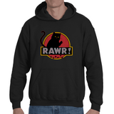Hooded Sweatshirt Jurassic Cat - Sheepbay