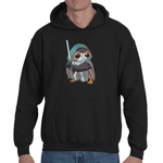 Hooded Sweatshirt Star Wars 8 - The Last Porg - Sheepbay