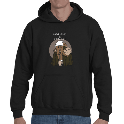 Hooded Sweatshirt Morning Is Coming - Sheepbay