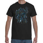 T-shirt Overwatch - Reinhardt Artwork - Sheepbay
