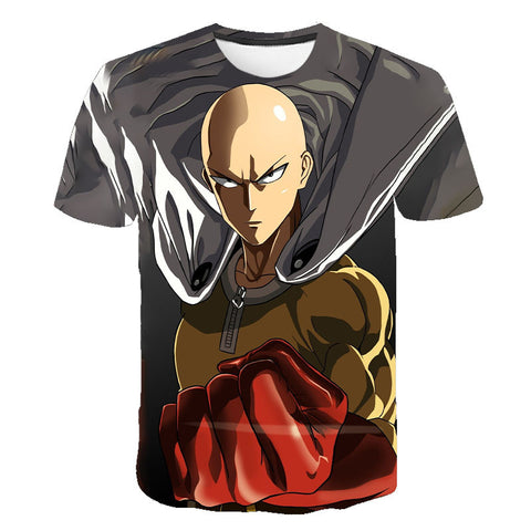 T-shirt One Punch Man 3D print - Sheepbay