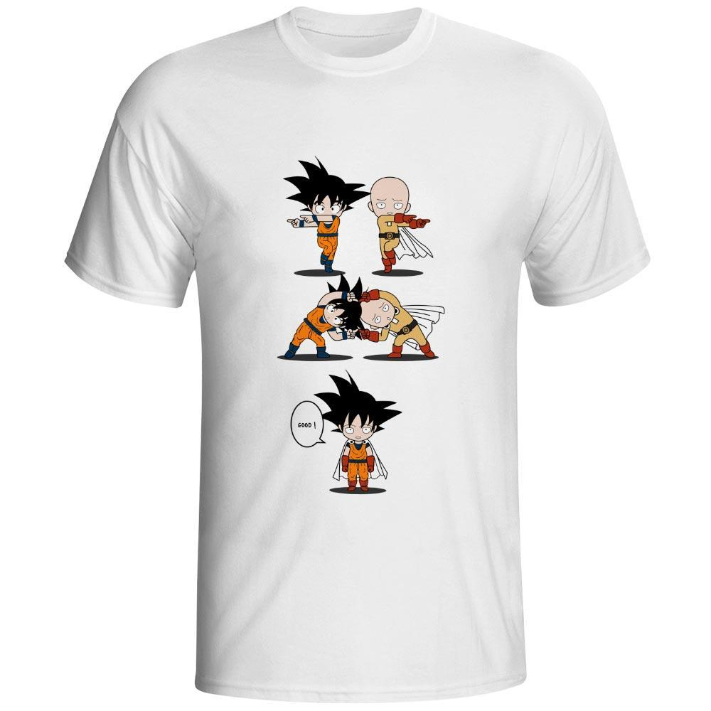 T-shirt Dragon Ball Z Fusion Goku Saitama - Sheepbay
