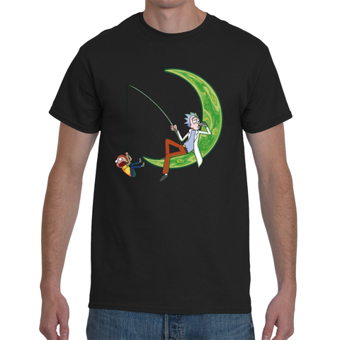 T-shirt Rick & Morty Drop Moon - Sheepbay