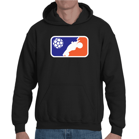 Hooded Sweatshirt Rocket League Basketball NBA logo - Sheepbay