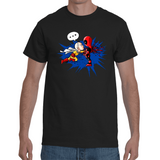 T-shirt One Punch Man Vs Deadpool - Sheepbay