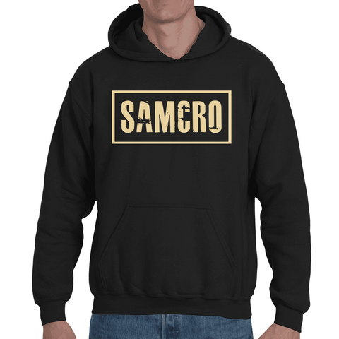 Hooded Sweatshirt Sons Of Anarchy - Samcro - Sheepbay