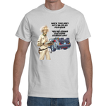 T-shirt Back To The Future Serious Sh*t - Sheepbay