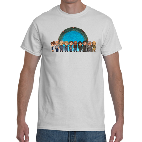 T-shirt Stargate SG1 Team Cartoon - Sheepbay