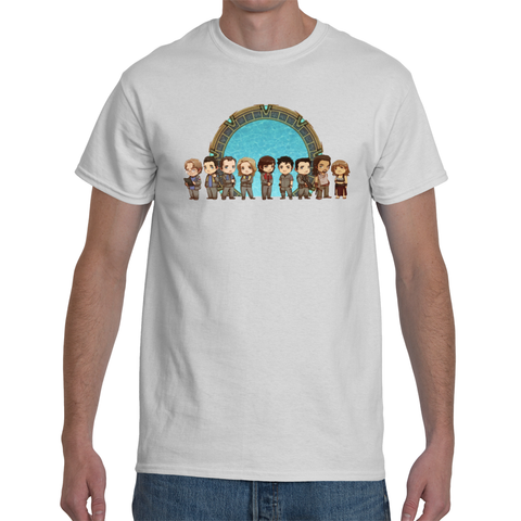 T-shirt Stargate SGA Team Cartoon - Sheepbay