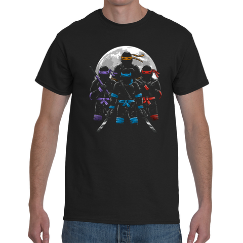 T-shirt Teenage Mutant Ninja Turtles Moon - Sheepbay
