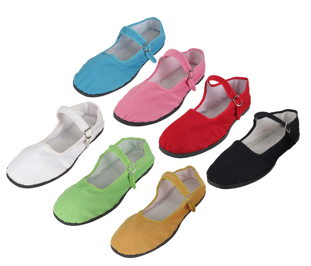 5ba542ac1381 Women s Chinese Mary Jane Cotton Shoes Slippers Sizes 35 - 42 New ...