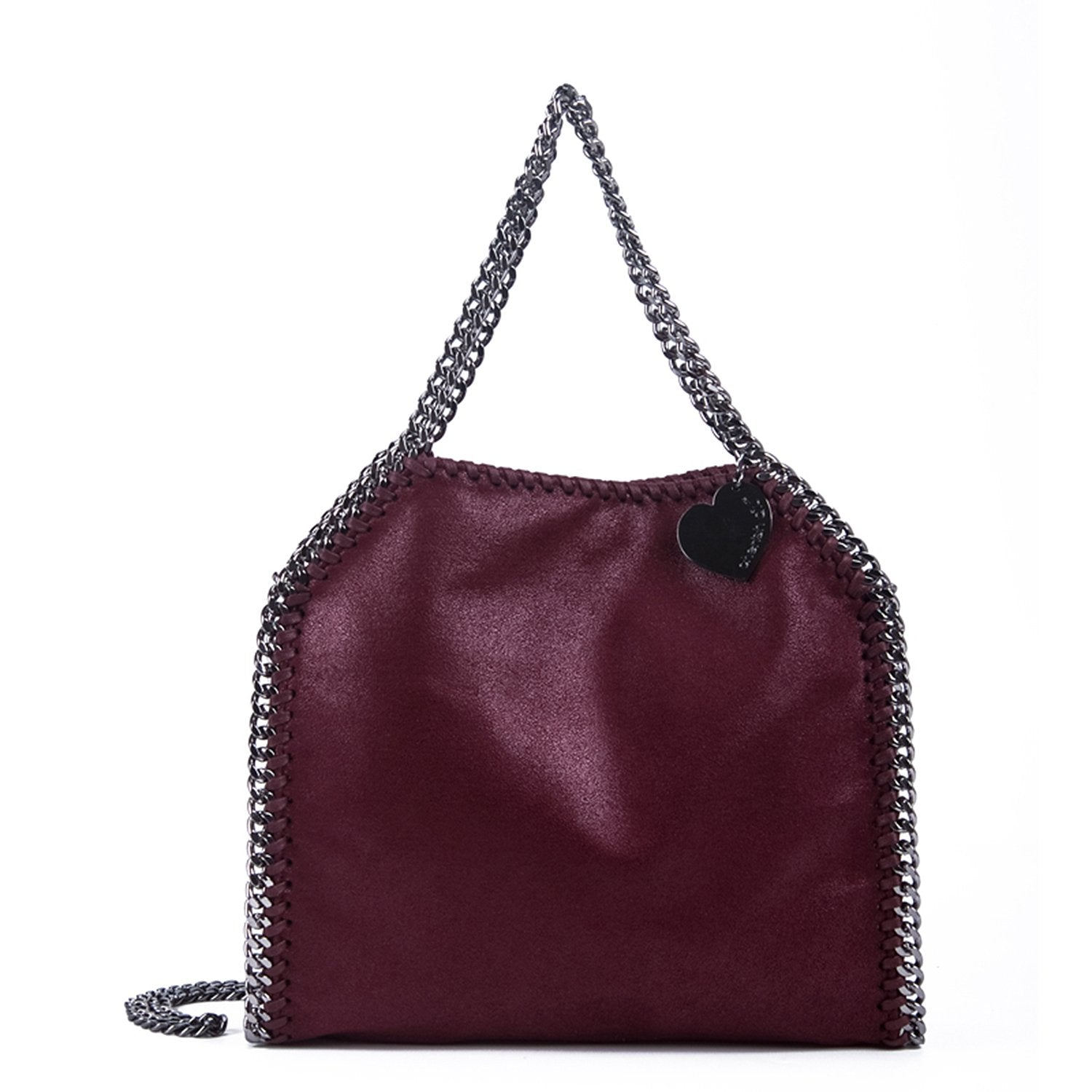 Red Series Single Shoulder Chain Bucket Bag