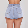 Summer Blue Pants Denim Shorts