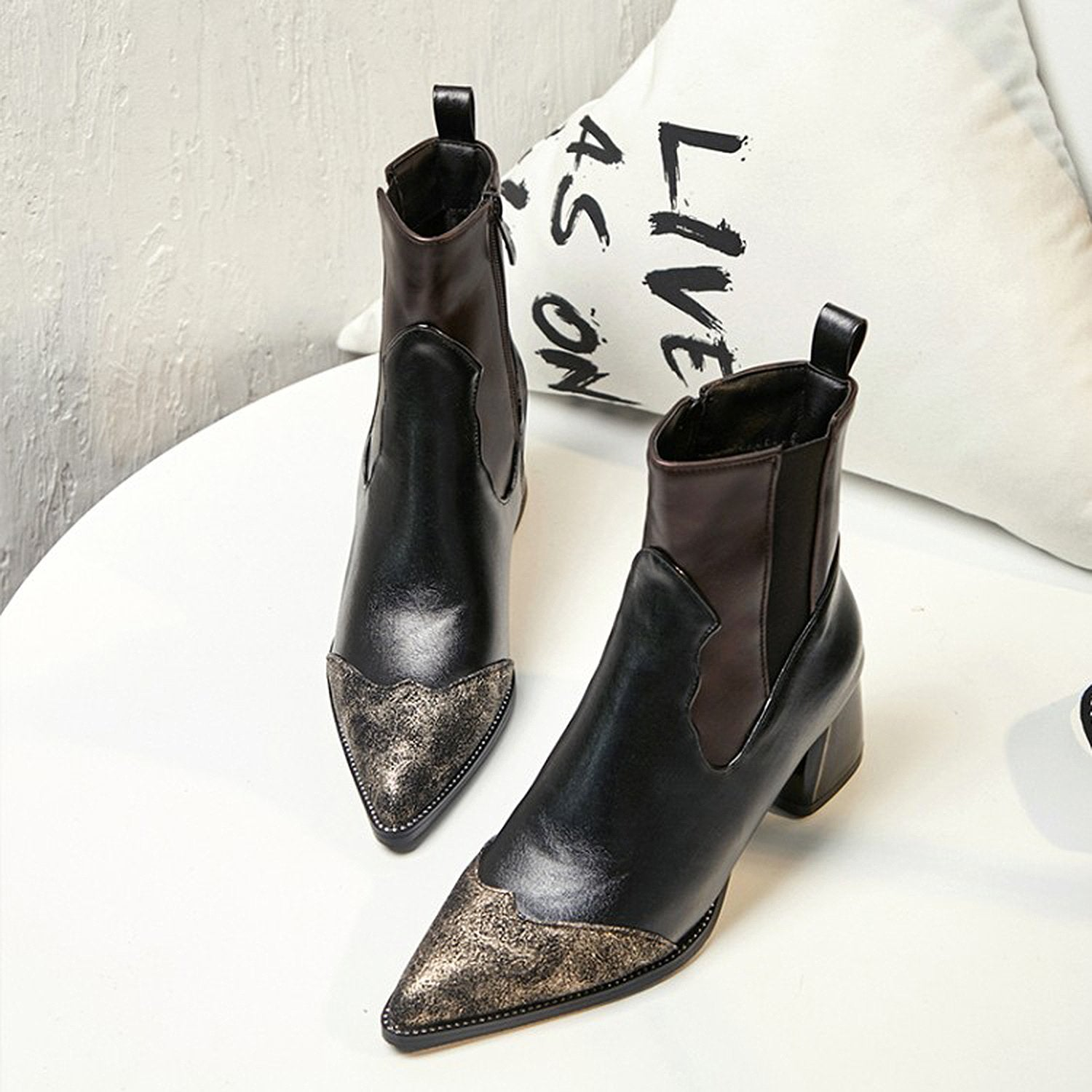 Retro Slim Booties US 5-12