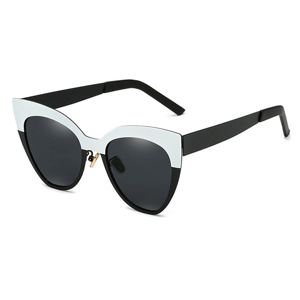 Contrast Color Stitching Sunglasses