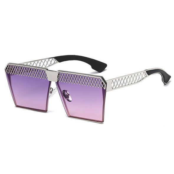Mesh Square Leisure Sunglasses