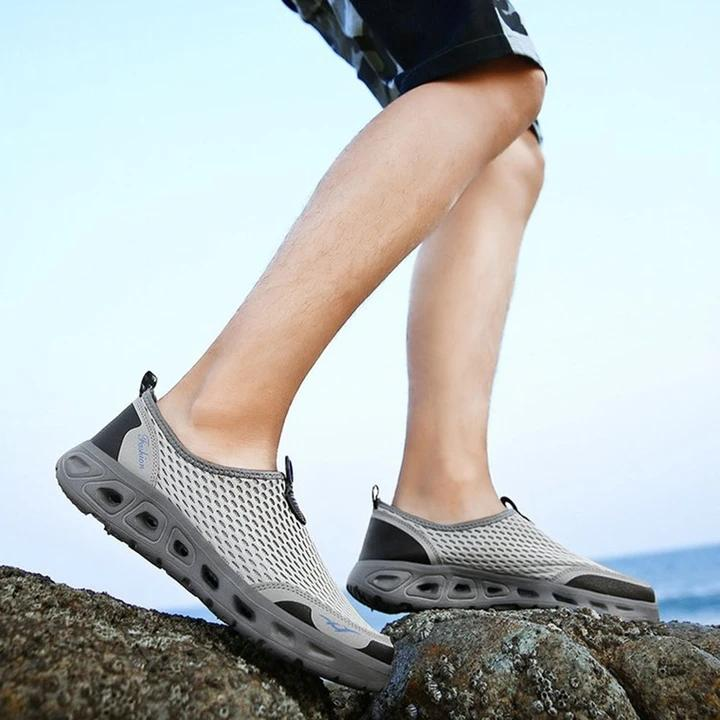 Men's shoes breathable sneakers mesh shoes