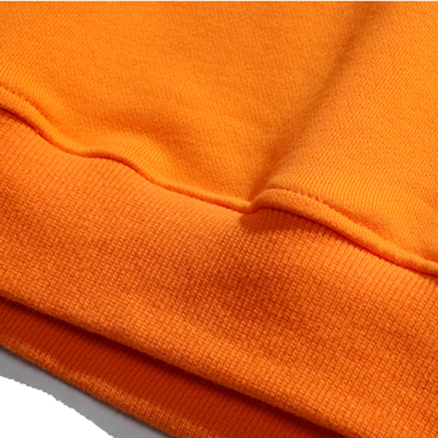 Solid Color Stitching Loose Sweatshirt