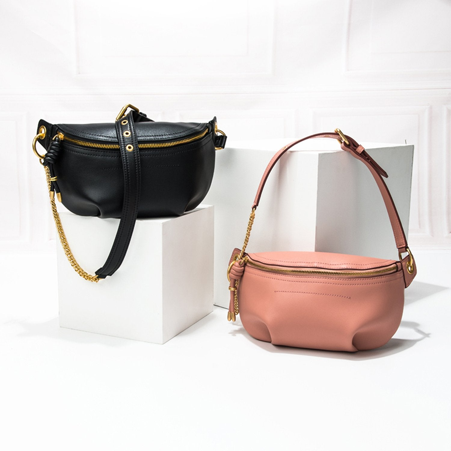 Simple Fashion Leather Four Colors Pockets