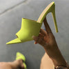 Pointy Stiletto High Heel Slippers Sandals