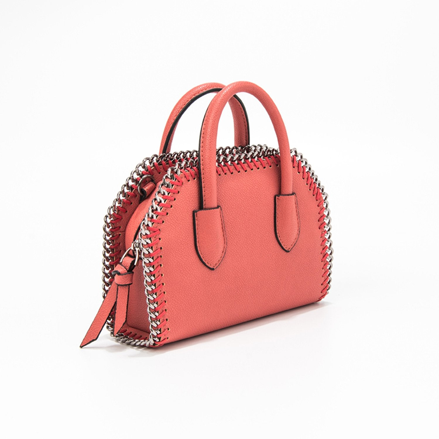 Small Size Simple Fashion Lychee Pattern Handbag