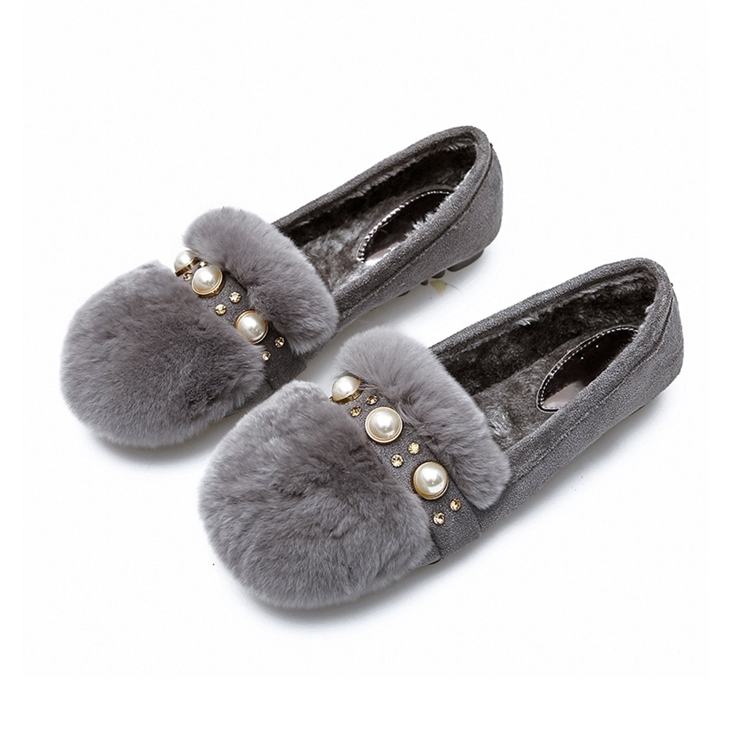 Pearl Low-fronted Hairy Peas Shoes