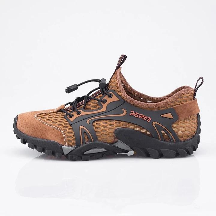 Men's Breathable Light Outdoor Hiking Mesh Sneakers