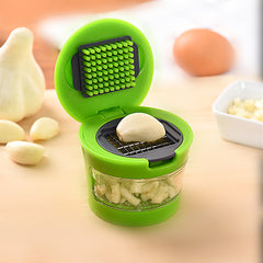Garlic Grinder With Container