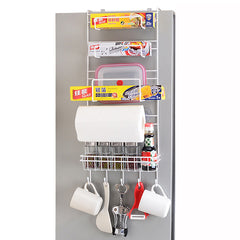 Refrigerator Side Storage Rack