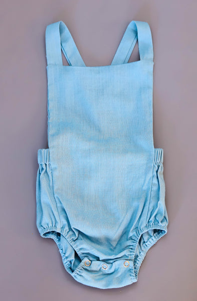 Sea Breeze Blue Overall