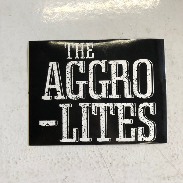 """The Aggrolites"" Stickers"