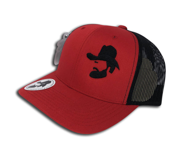 El Cowboy (Red/Black) - ShopPZS