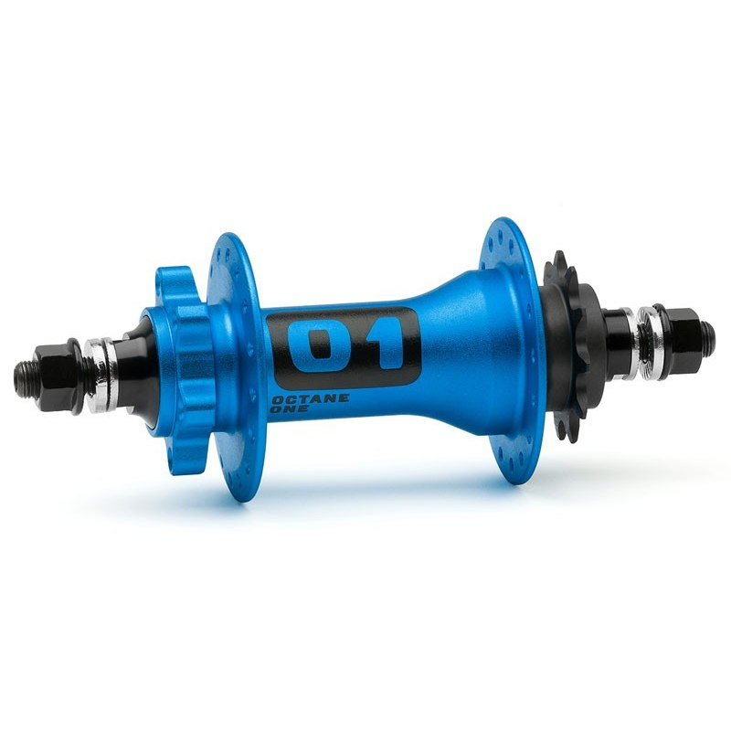 Octane One Orbital Pro SS Rear Hub - Blue