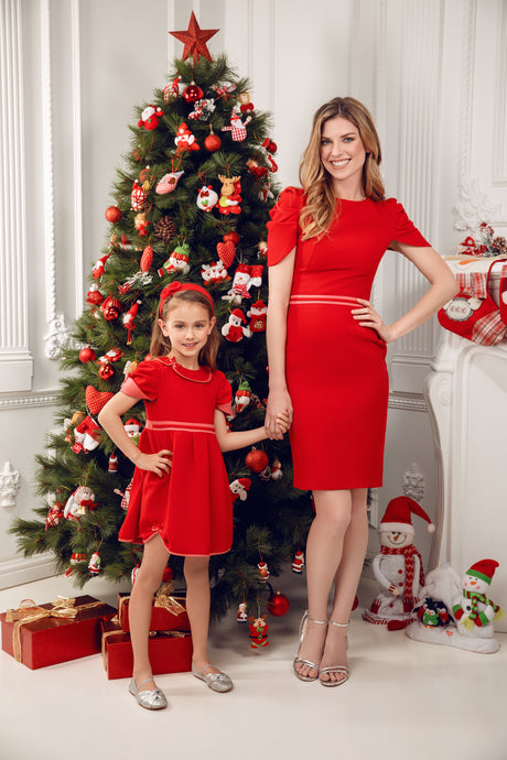 Exclusive selection of Christmas looks for mothers and daughters