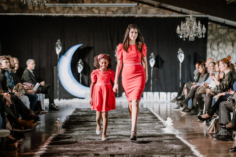 Analogias Official matching set mother and daughter fashion