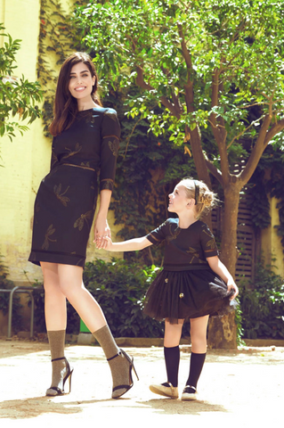 Matching Dress Set Christmas outfit for mother and daughter