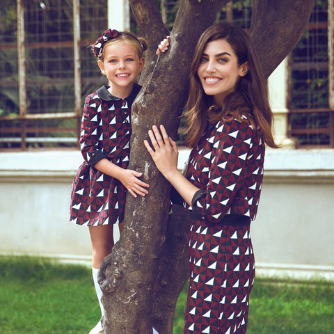 matching outfits twinning mother and daughter fashion