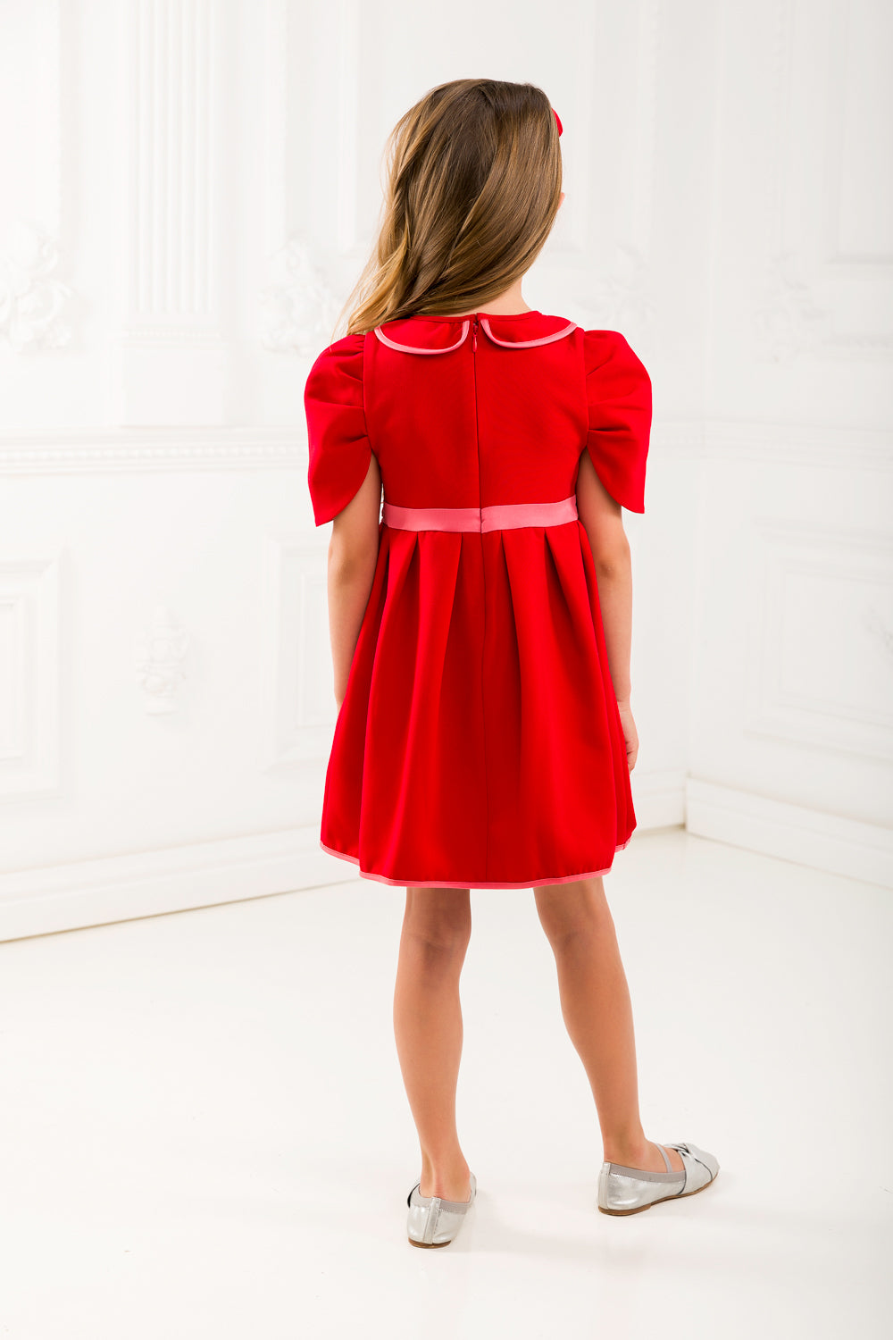 Red Dress Set