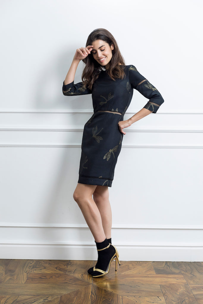 Black Pencil Woman Dress