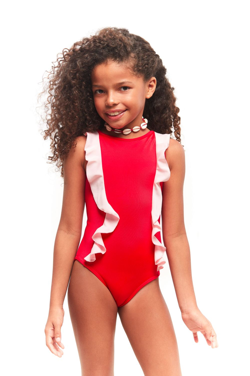 Pink Love One Piece Matching Set