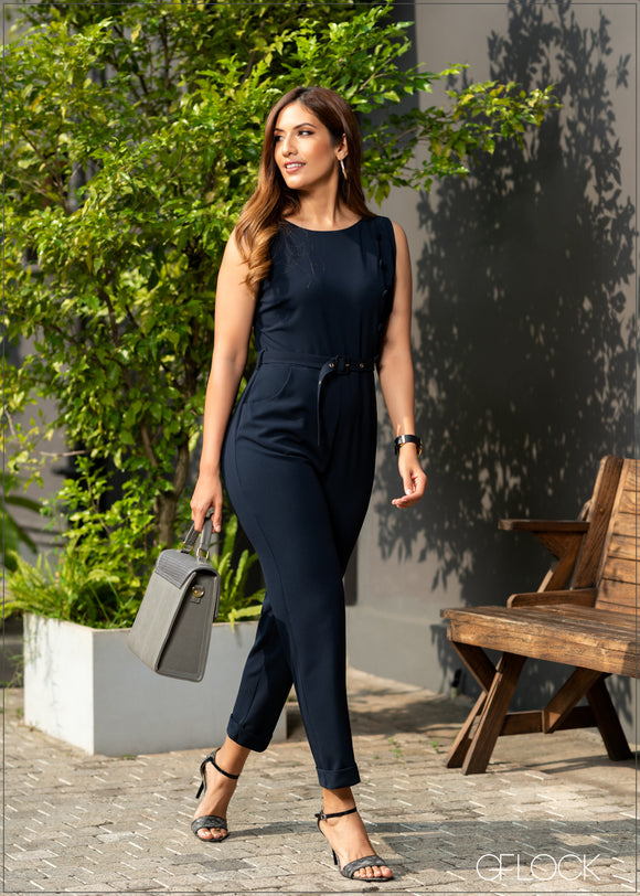 Sleeveless Jumpsuit - GFLOCK.LK