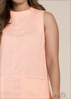 Pocket Detailed Sleeveless Dress - GFLOCK.LK