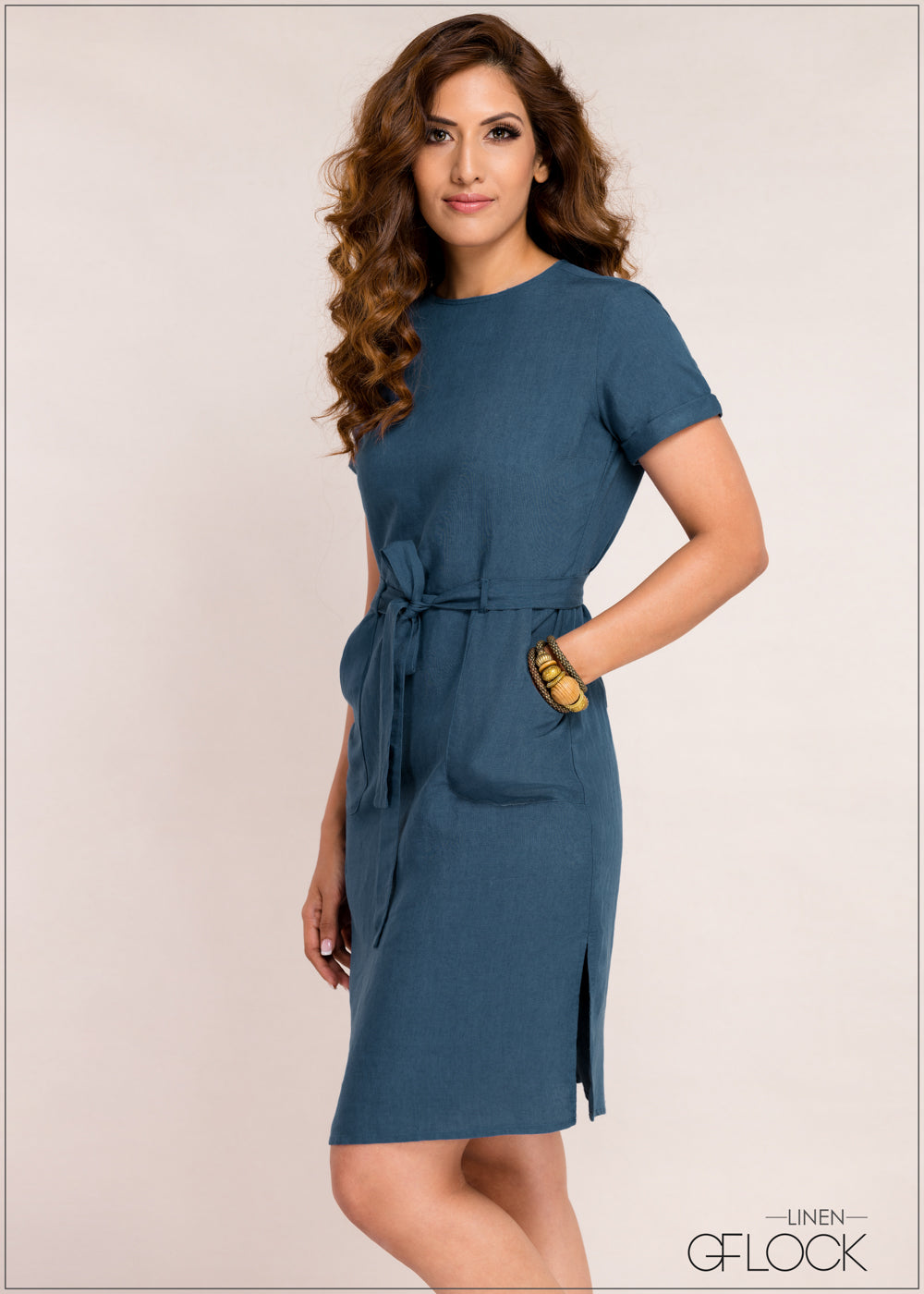 Patch Pocket Detailed Dress