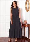 Tiered Polka Dot Maxi - 360