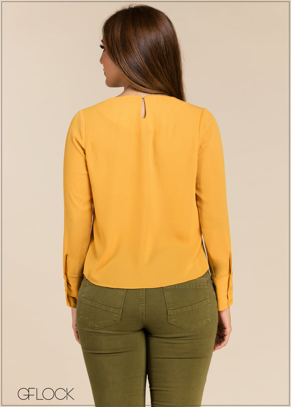 Long Sleeve Workwear Top - GFLOCK.LK