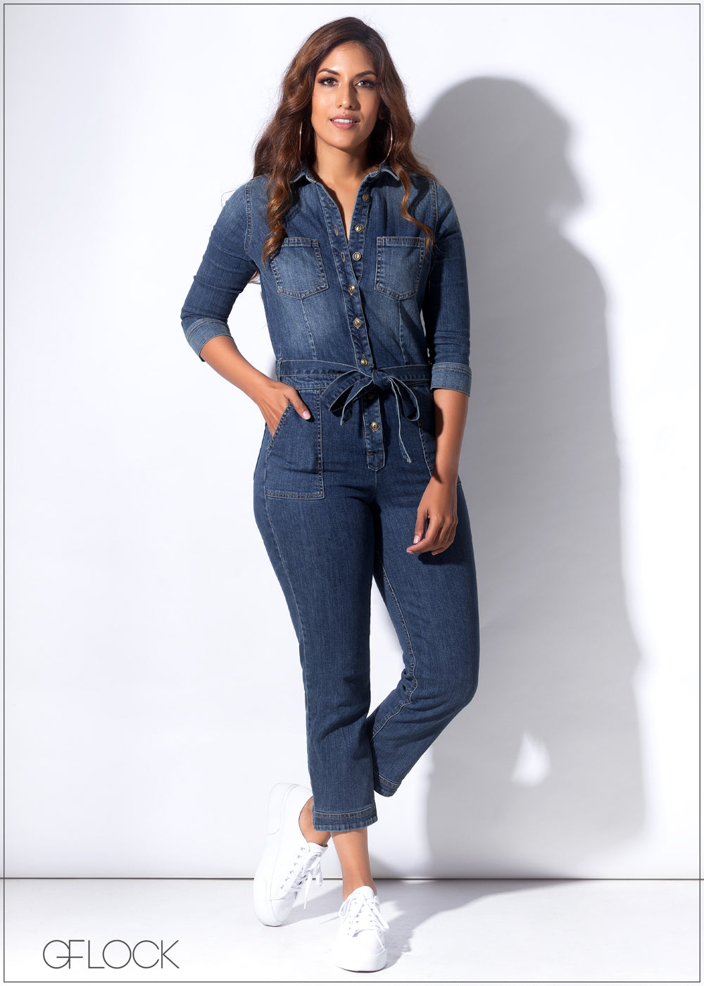 Denim Jump Suit