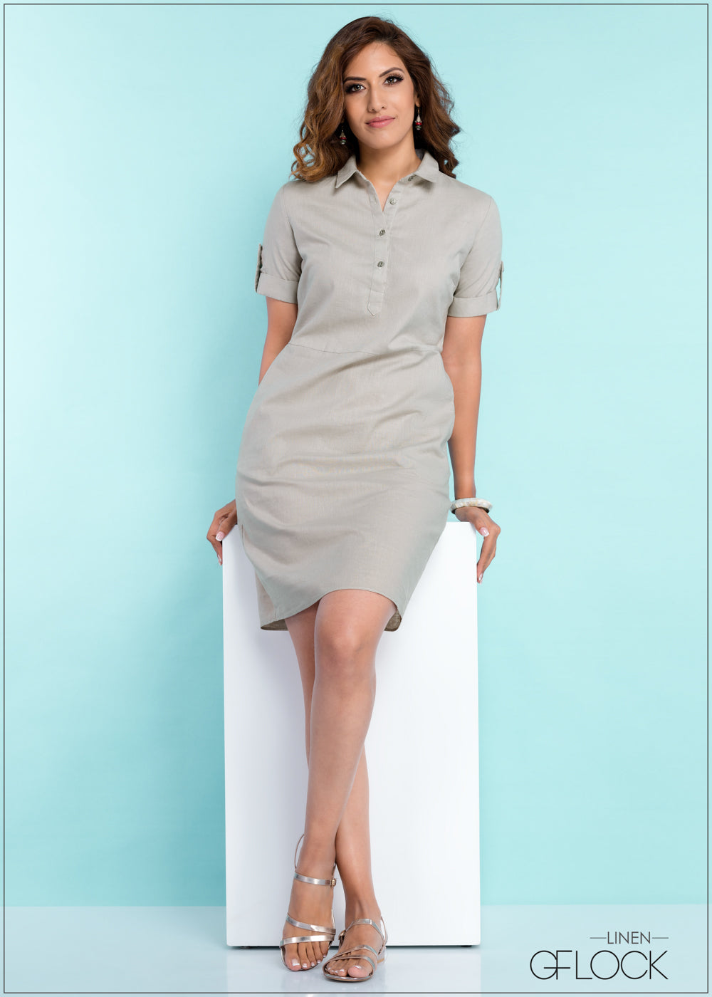 Day Out Linen Dress