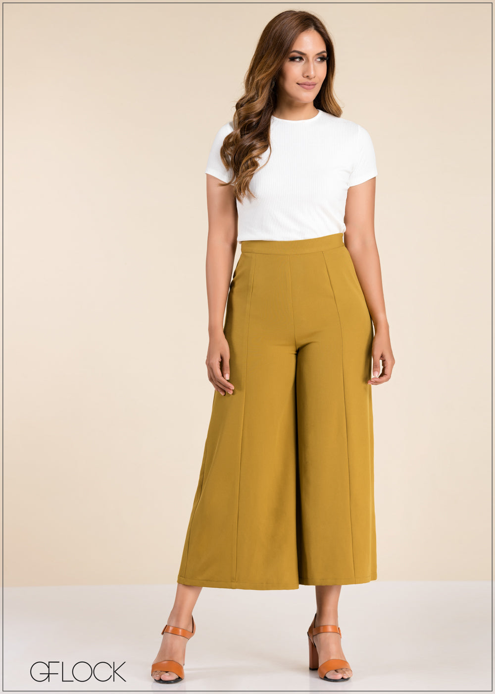 Seam Detailed Flared Pant - GFLOCK.LK